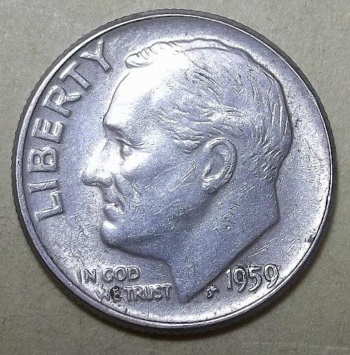 1959P Roosevelt -MS like Lot RsDQc