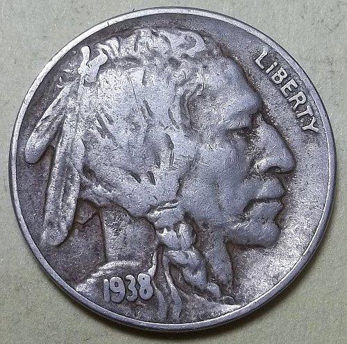 1938d Buffalo Nickel Lot BNsnns
