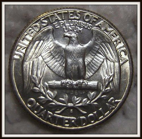 1935-S 25C Washington Silver Quarter (BU)