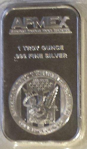APMEX 1 OZ. Troy .999 Silver Bar