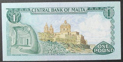Malta P31f Lira XF