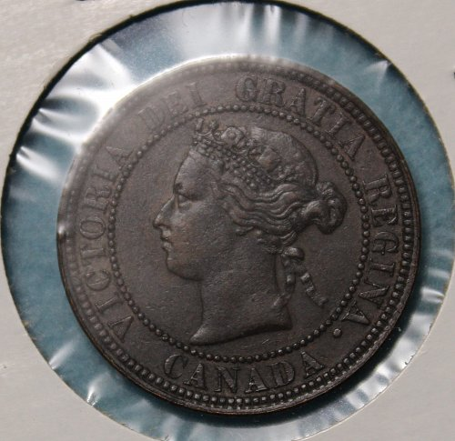Canada 1876H Large Cent
