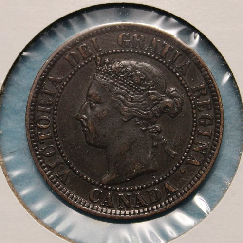 Canada 1893 Large Cent