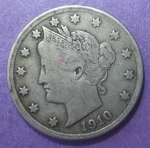 1910 P Liberty Nickel Lot JULbVna