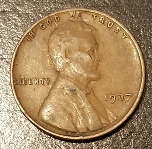 1937 Lincoln Wheat Cent (7940)