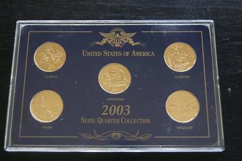 Three Sets of Coins