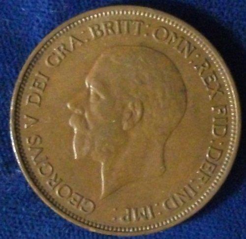 1936 Great Britain Penny XF-AU