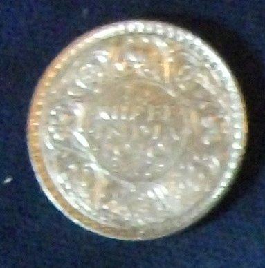 1940 India/British Quarter Rupee XF