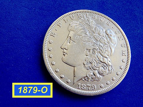 1879-O MORGAN SILVER DOLLAR ☆  ☆ ☆ ☆  (#5561)a