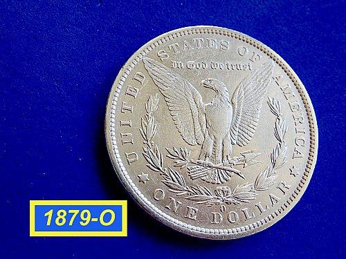 1879-O MORGAN SILVER DOLLAR ☆  ☆ ☆ ☆  (#5561)a