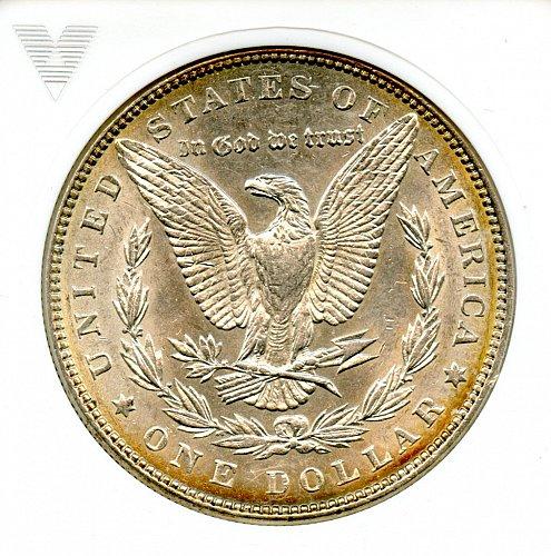 ANACS 1886 AU 58 Morgan Silver Dollar