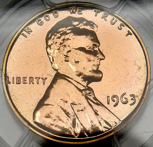 1963 P Lincoln Memorial Cent PROOF