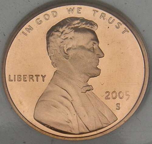 2005S LINCOLN MEMORIAL CENT UCAM69