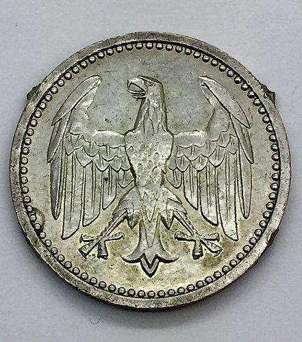 1924 A  3 Marks  - Germany