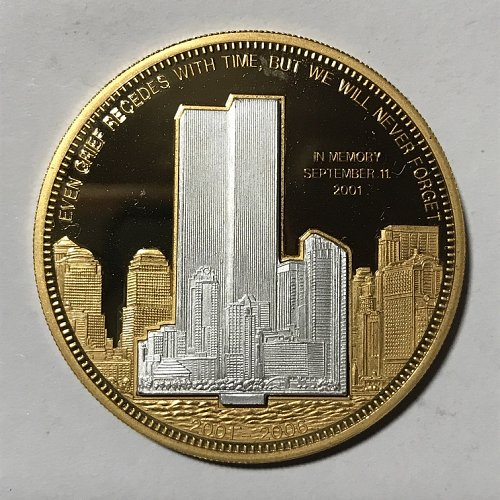 September 11th 2001 5 year Commemorative coin