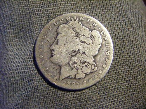 1895-O Morgan Silver Dollar AG Key Date