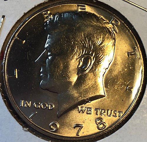 1978 P Kennedy Half Dollars