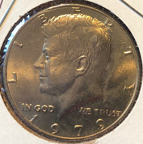 1979 P Kennedy Half Dollars