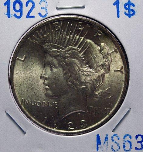 1923 Peace $1