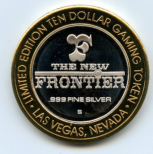 Casino 999 Silver Gaming Token