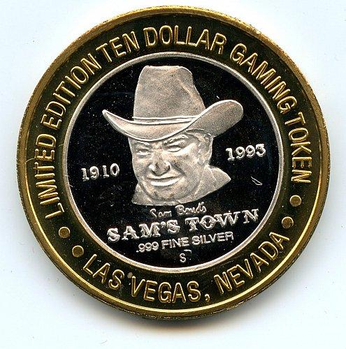 Casino 999 Silver Gaming Token