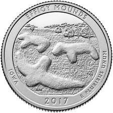 2017 P EFFIGY MOUNDS -  AMERICA THE BEAUTIFUL QUARTER