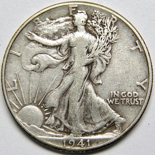 1941 P Walking Liberty Half Dollar #3