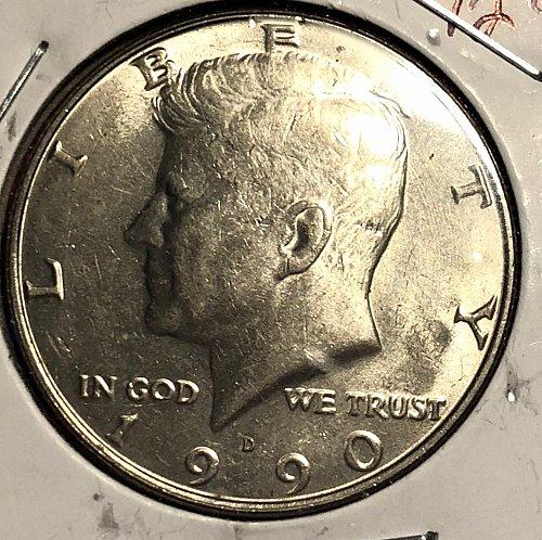 1990 D Kennedy Half Dollars