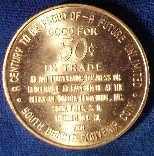 1961 South Dakota Centennial Souvenir Half Dollar