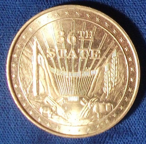 1970's Nevada 36th State/Mike O'Callaghan Govenor Medal