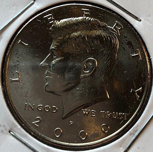 2000 P Kennedy Half Dollars