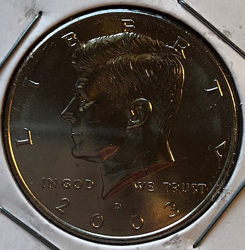 2003 D Kennedy Half Dollars