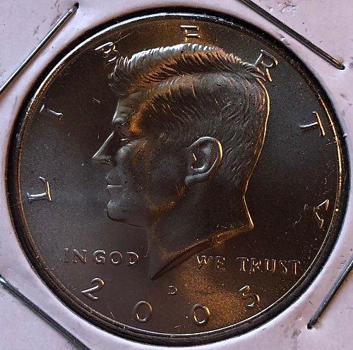 2005 D Kennedy Half Dollars