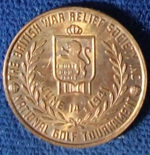 1941 The British War Relief Society National Golf Tournament