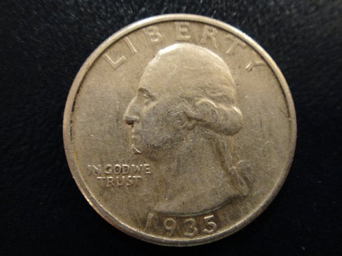 1935 Washington Quarter Extra Fine-40