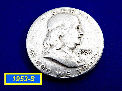 1953-SHalf  ☆ Circulated ☆  (#1111)a