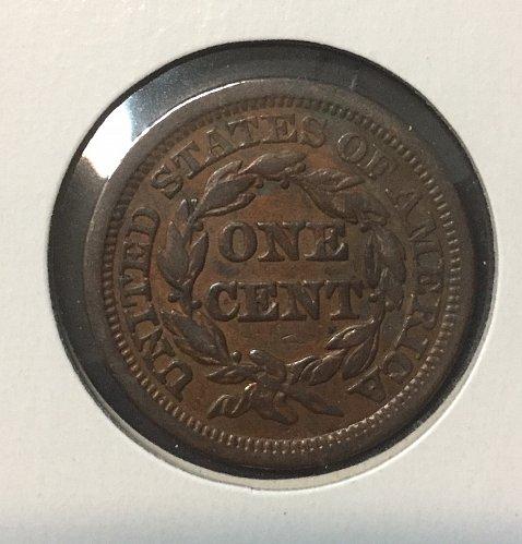 1845 Large Cent Large 5