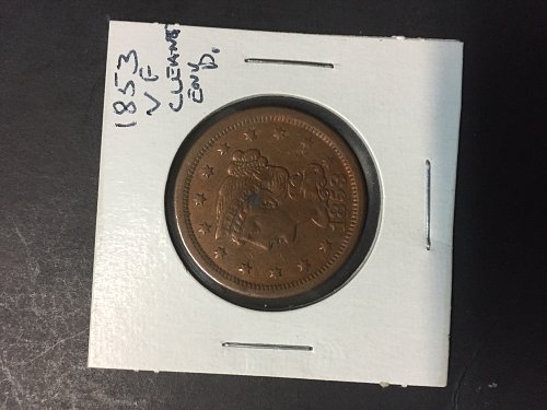 3 Cull Large Cents