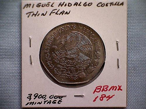 1974 MEXICO TEN PESOS