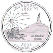 2006 S  PROOF   NEBRASKA  STATE QUARTER