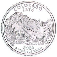 2006 S  SILVER PROOF  COLORADO STATE QUARTER