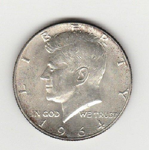 1964  Kennedy Half Dollar  And 1964 Washington Quarter