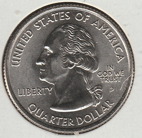 2001 D Rhode Island 50 States and Territories Quarters  -10