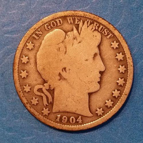 1904 Barber Half