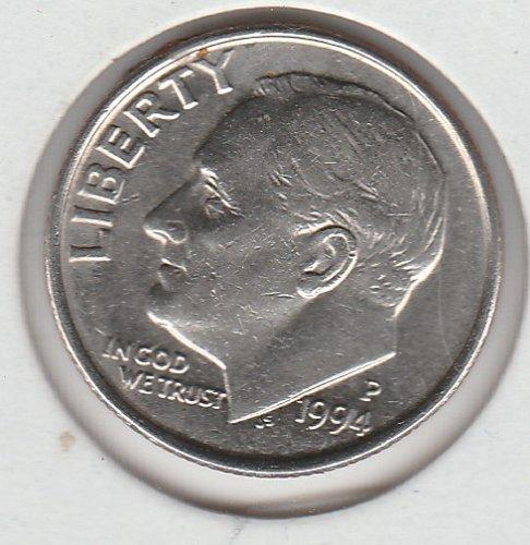 1994 P Roosevelt Dimes -10