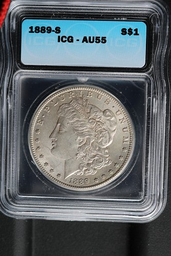 Morgan dollar in great condition