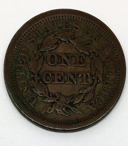 1852 Large Cent