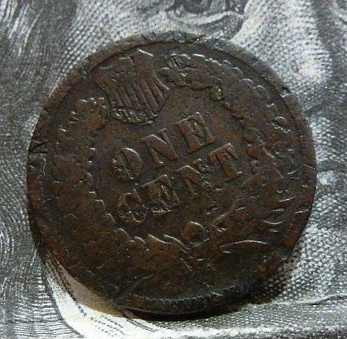 1874 Indian Cent Grades FILLER ( 19227)