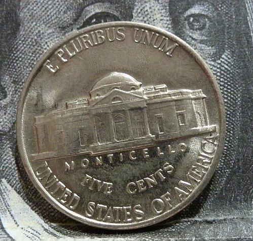 1941 P BU Jefferson Nickel with FULL Steps # 19269