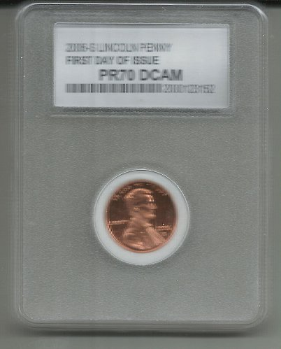 2006   S   PROOF  LINCOLN CENT  FIRST DAY of ISSUE